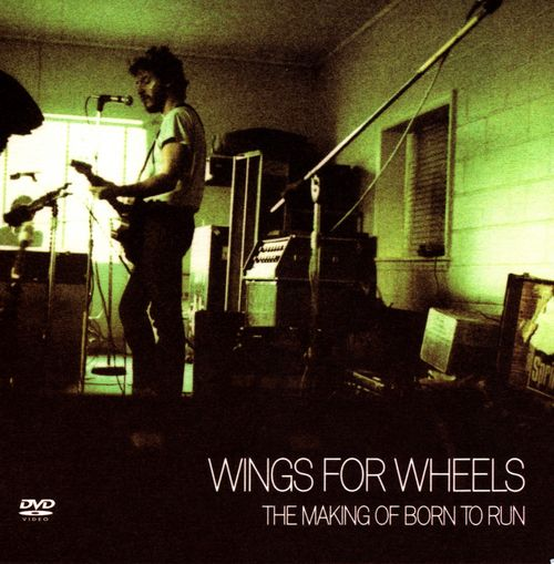 Bruce Springsteen -- Wings For Wheels: The Making Of Born To Run (DVD cover art)