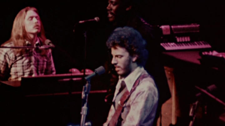"Bruce Springsteen performing THUNDERCRACK on 01 May 1973 show at Ahmanson Theatre, Los Angeles, CA (from the ""Wings For Wheels: The Making Of Born To Run"" DVD)"