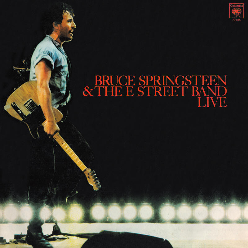 Bruce Springsteen & The E Street Band -- Live (Argentina LP issue)