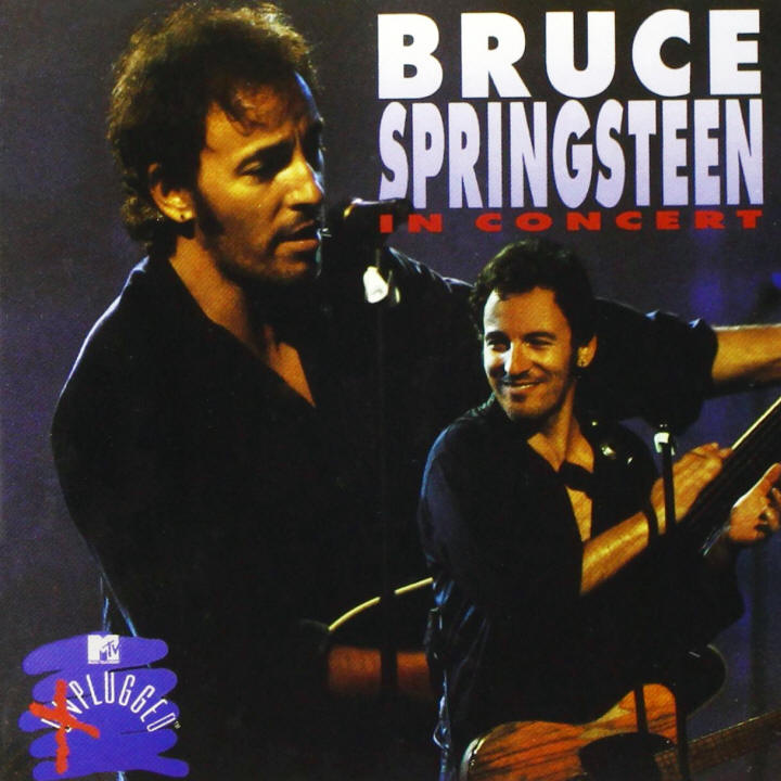 Bruce Springsteen -- In Concert / MTV Plugged (album cover art)
