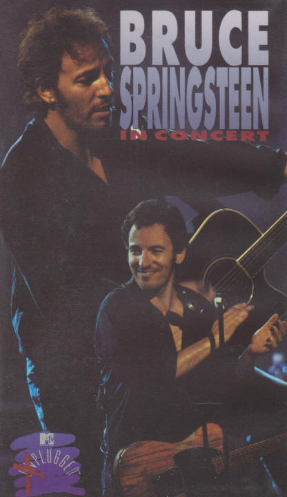 Bruce Springsteen -- In Concert / MTV Plugged (VHS cover art)
