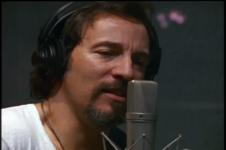 Bruce Springsteen recording BLOOD BROTHERS (full-band take #1) in studio (from the Blood Brothers documentary)