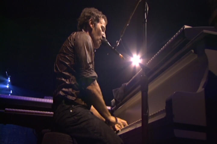 "Bruce Springsteen performing INCIDENT ON 57TH STREET on 16 Oct 2002 at Palau Sant Jordi, Barcelona, Spain (from the ""Live In Barcelona"" DVD)"