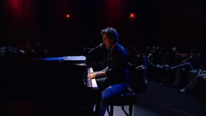"Bruce Springsteen performing THUNDER ROAD during the 04 Apr 2005 show at Rechnitz Theater, Red Bank, NJ (from the ""VH1 Storytellers"" DVD)"