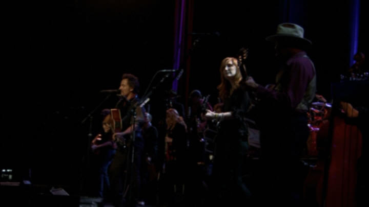 "Bruce Springsteen performing GROWIN' UP during the 17 Nov 2006 show at Point Theatre, Dublin, Ireland (from the ""Live In Dublin"" DVD)"