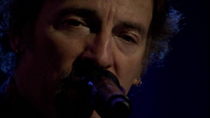 "Bruce Springsteen performing HIGHWAY PATROLMAN during the 18 Nov 2006 show at Point Theatre, Dublin, Ireland (from the ""Live In Dublin"" DVD)"