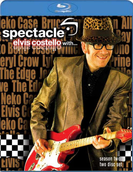 Spectacle: Elvis Costello With... (Season 2) (Blu-ray cover art)