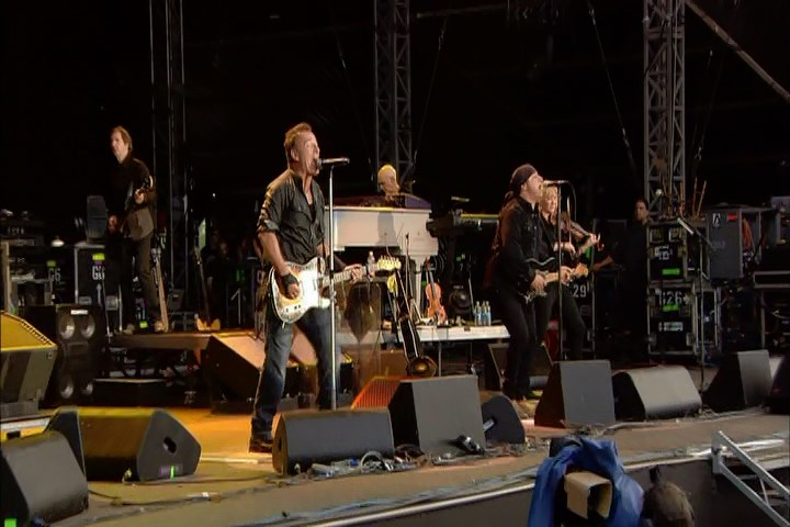 "Bruce Springsteen performing JOHNNY 99 on 28 Jun 2009 at Hyde Park, London, England (from the ""London Calling: Live In Hyde Park"" DVD)"