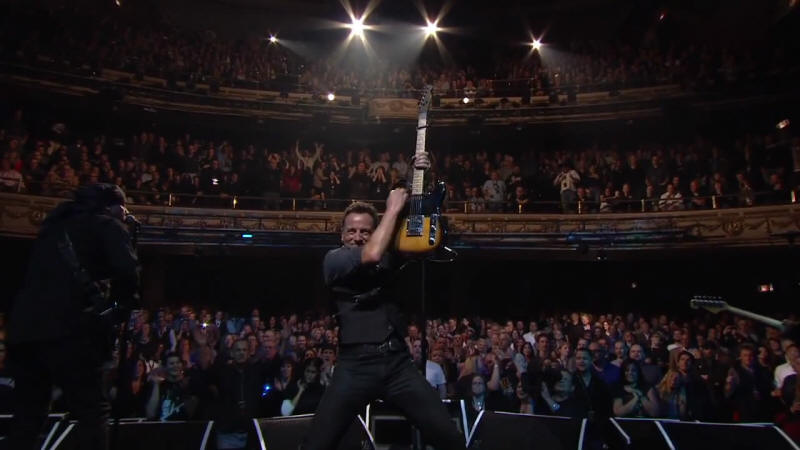 Bruce Springsteen & The E Street Band performing WRECKING BALL on 09 Mar 2012 at Apollo Theater, New York City, NY