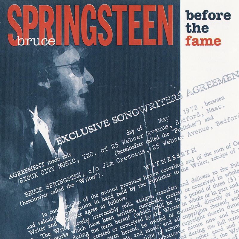 Bruce Springsteen -- Before The Fame (Pony Express Records, second issue)