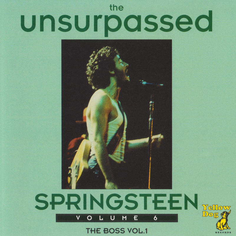 Bruce Springsteen -- The Unsurpassed Springsteen Volume 6 (Yellow Dog Records)