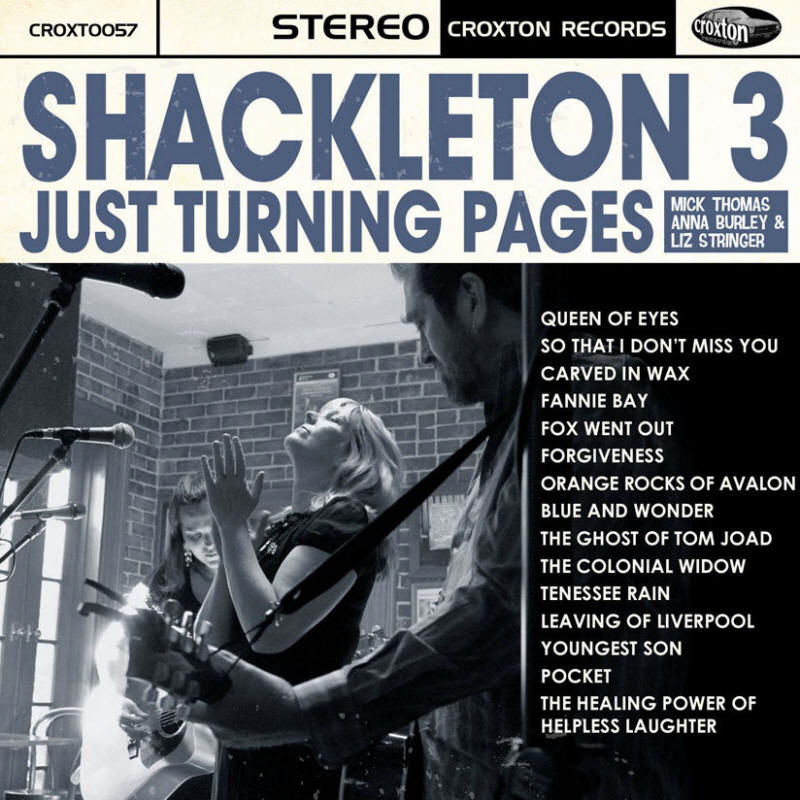 Shackleton 3 -- Just Turning Pages