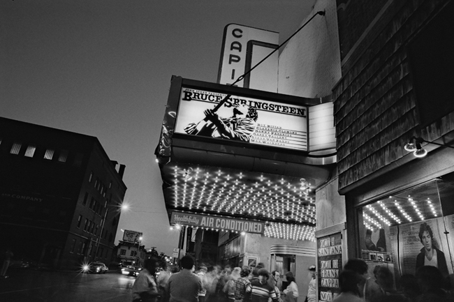 Marquee for the 19-21 shows at Capitol Thatre, Passaic, NJ