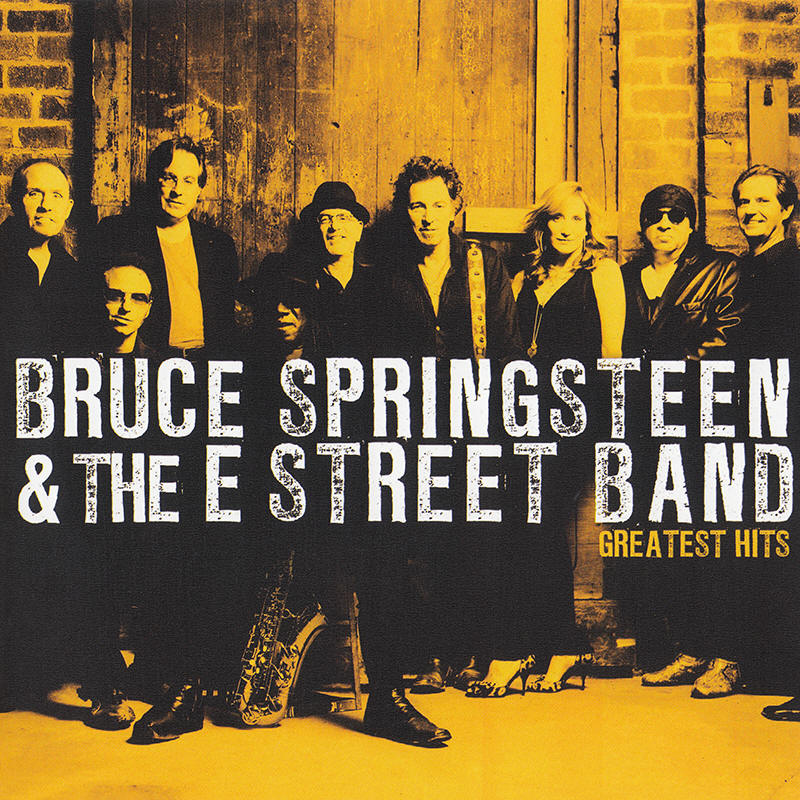 Bruce Springsteen & The E Street Band -- Greatest Hits (2009 Europe edition)
