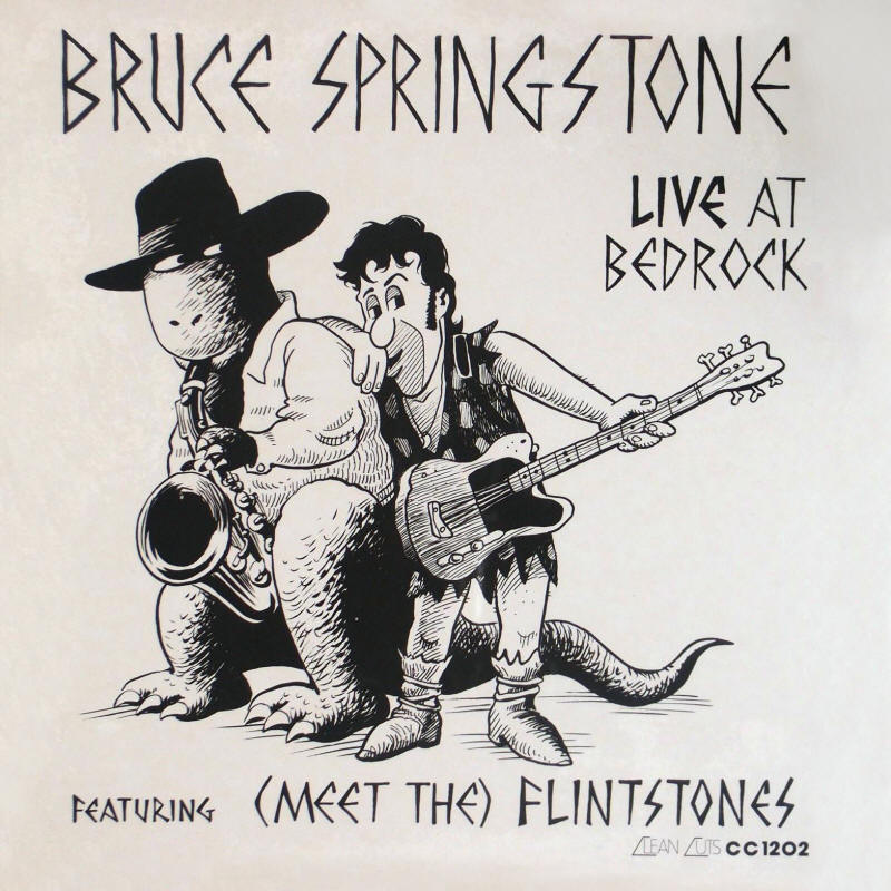 Bruce Springstone -- Live At Bedrock