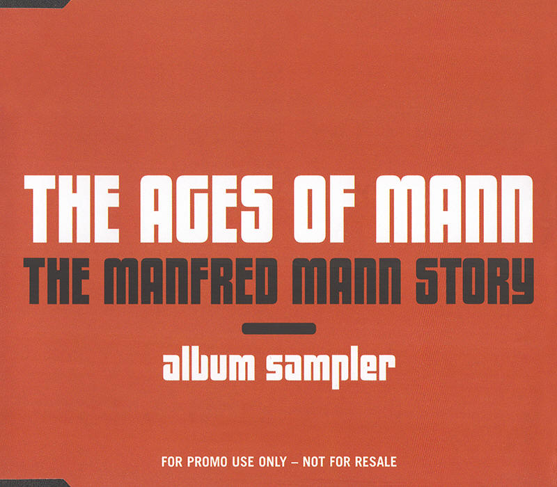 Manfred Mann and Manfred Mann's Earth Band -- The Ages Of Mann: The Manfred Mann Story Album Sampler