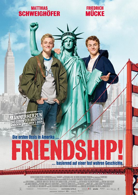 "Promotional poster for the film ""Friendship!"""
