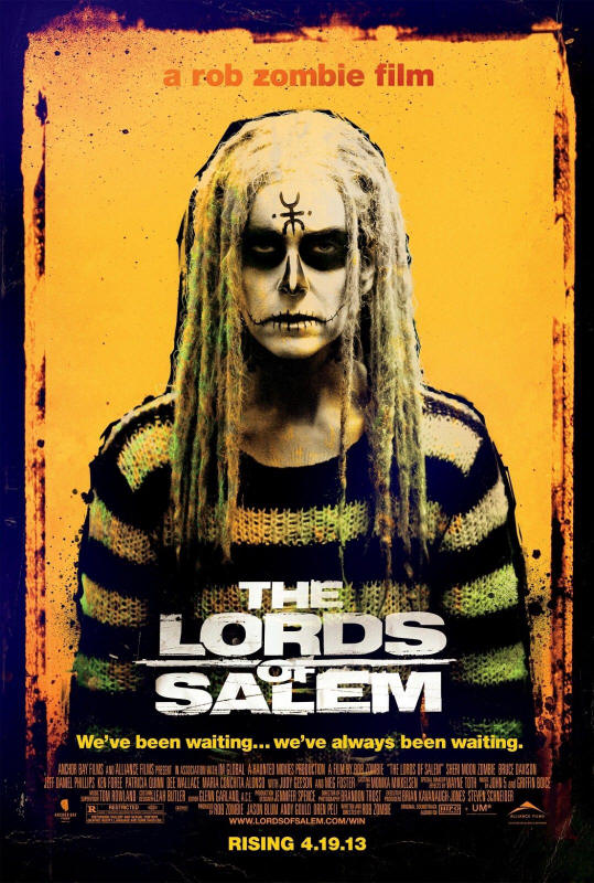 "Promotional poster for the film ""The Lords Of Salem"""