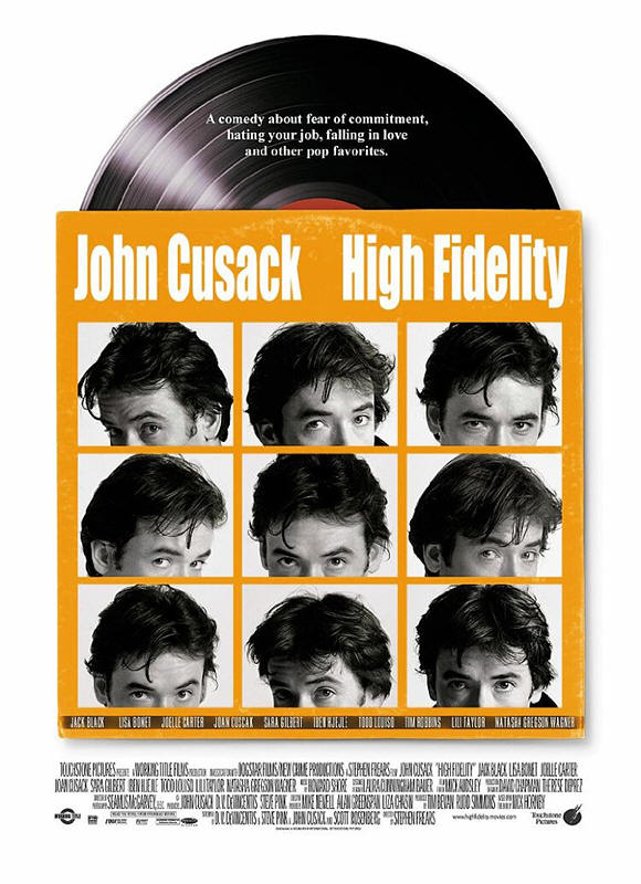 "Promotional poster for the film ""High Fidelity"""