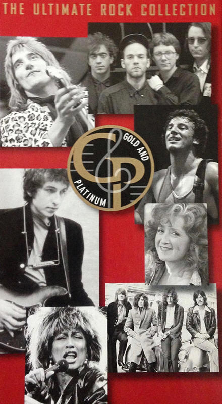 Various artists -- Gold & Platinum - The Ultimate Rock Collection 1964-1995