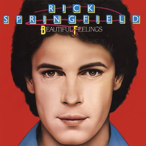 Rick Springfield -- Beautiful Feelings (album cover art)