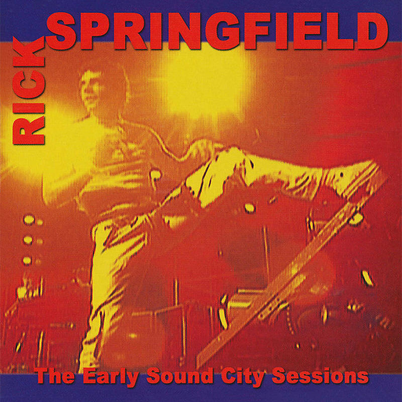 Rick Springfield -- The Early Sound City Sessions (album cover art)
