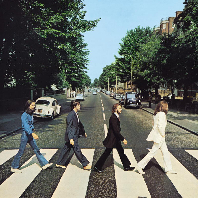 The Beatles -- Abbey Road (album cover art)