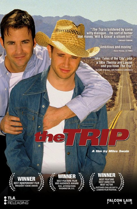 "Promotional poster for the film ""The Trip"""