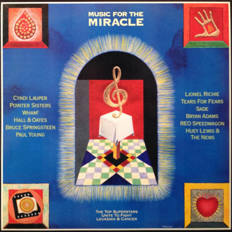 Various artists -- Music For The Miracle (USA vinyl issue)