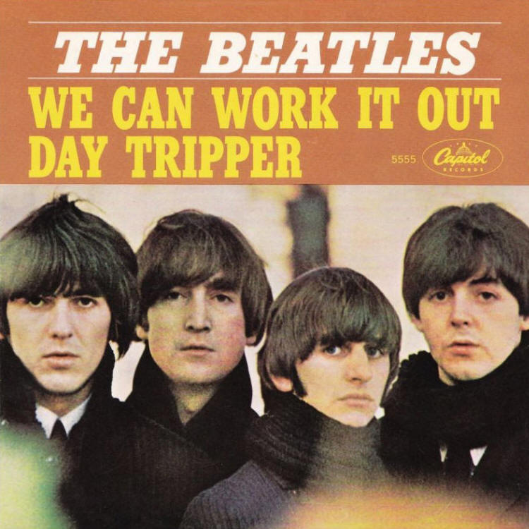 "The Beatles -- ""We Can Work It Out / Day Tripper"""