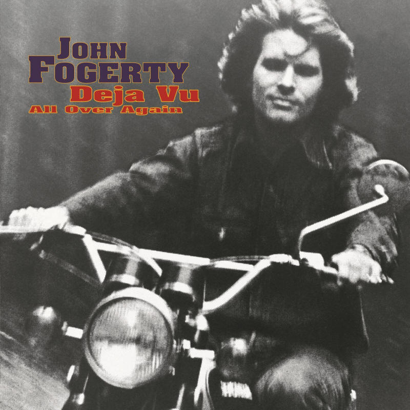 John Fogerty -- Deja Vu All Over Again (album cover art)