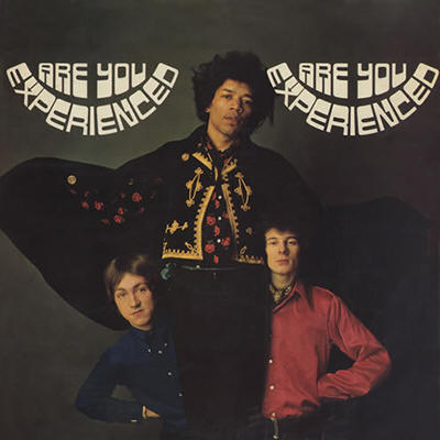 The Jimi Hendrix Experience -- Are You Experienced (UK issue, album cover art)