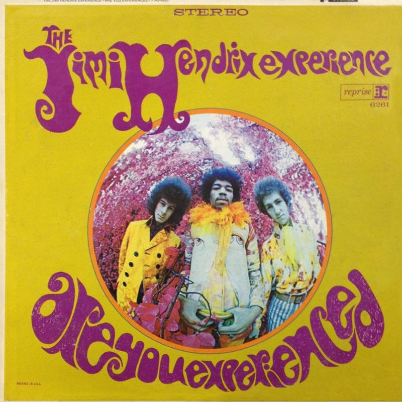 The Jimi Hendrix Experience -- Are You Experienced (USA issue, album cover art)
