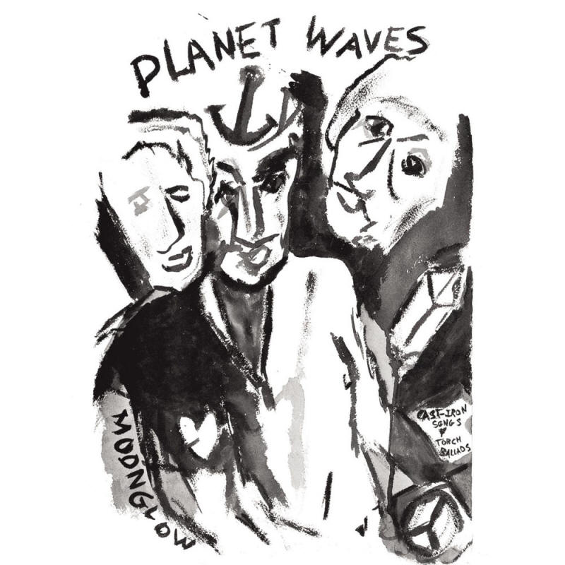 Bob Dylan -- Planet Waves (album cover art)