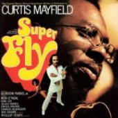 Curtis Mayfield – Super Fly (album cover art)