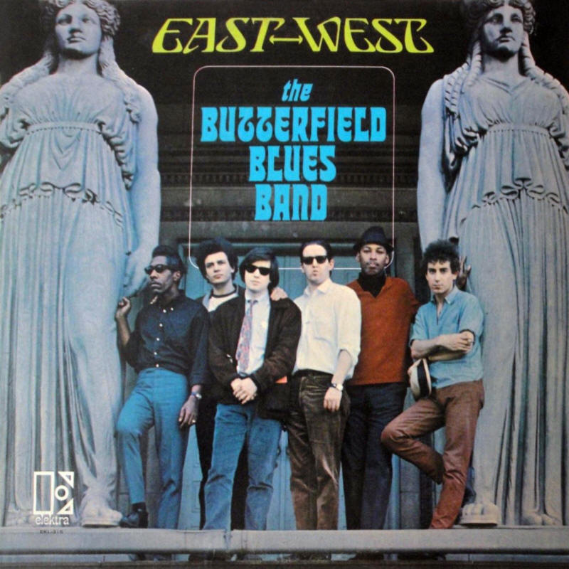 The Butterfield Blues Band -- East-West (album cover art, mono version)