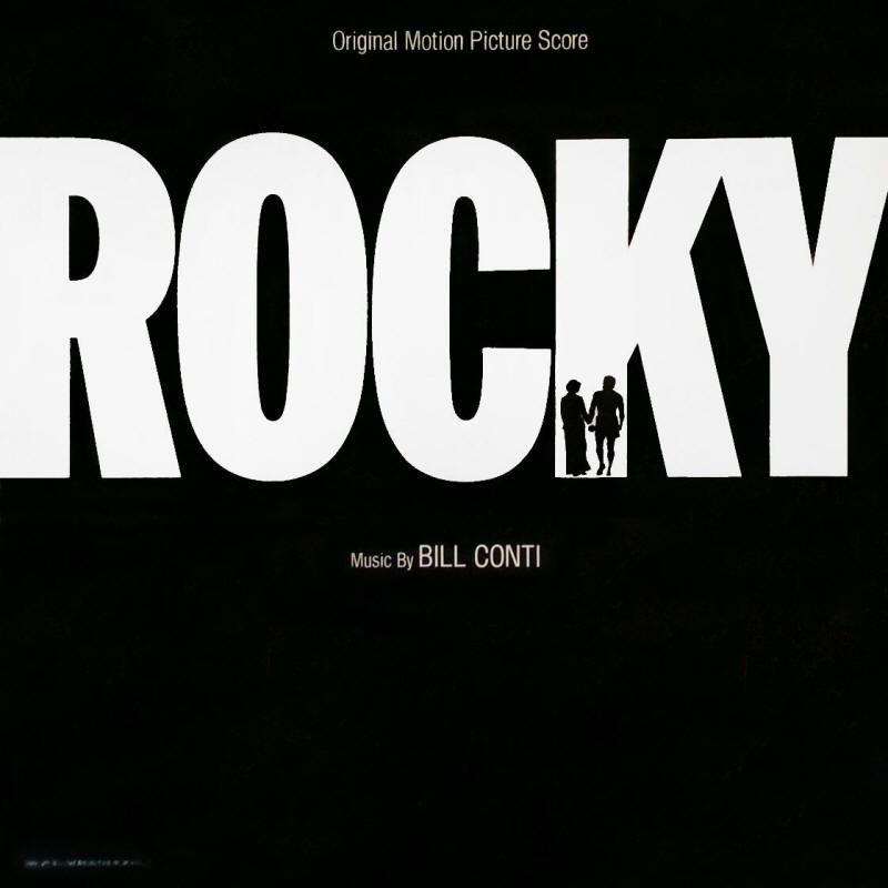 The Miracles -- Rocky: Original Motion Picture Score (album cover art)