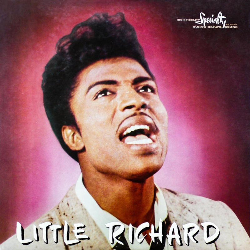 Little Richard -- Little Richard (album cover art)