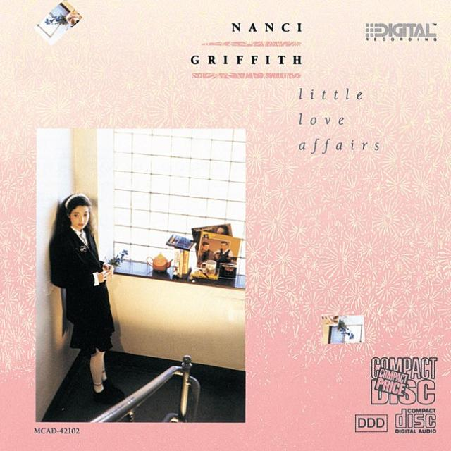 Nanci Griffith -- Little Love Affairs (album cover art, CD issue)