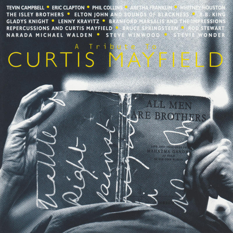 Various artists -- A Tribute to Curtis Mayfield (album cover art)