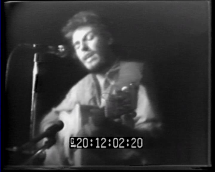 Bruce Springsteen performing HENRY BOY in August 1972 at Max's Kansas City, New York City, NY (from video footage)