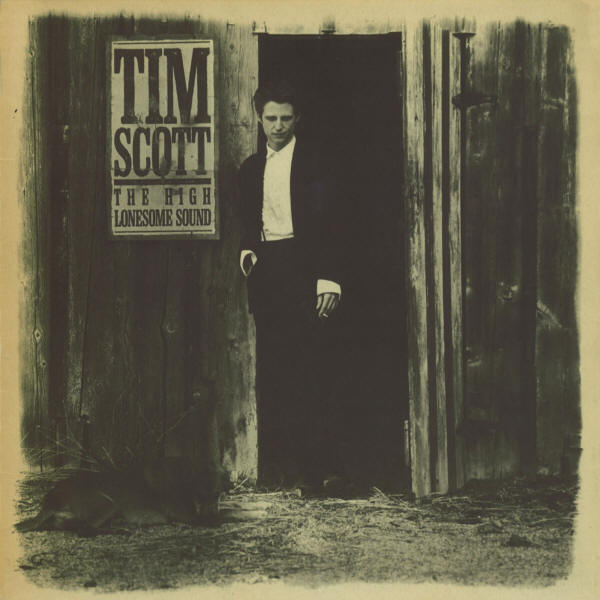 Tim Scott -- The High Lonesome Sound (album cover art)