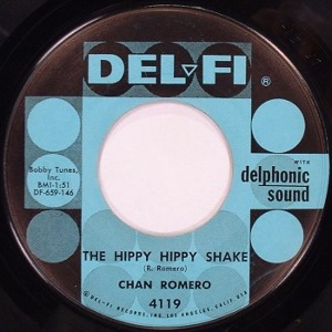 "Chan Romero -- ""The Hippy Hippy Shake / If I Had A Way"" SIZE=2"