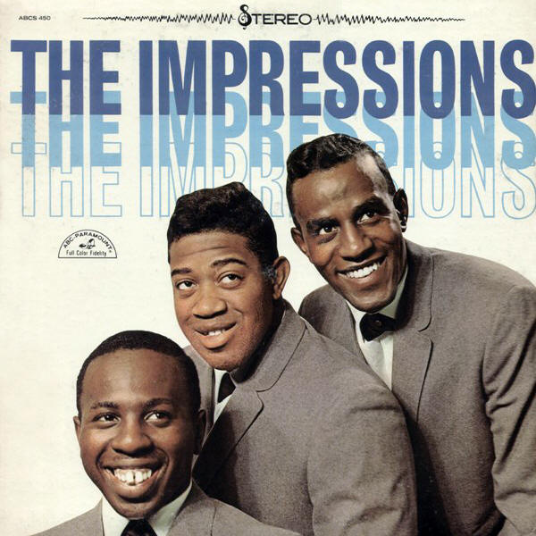 The Impressions -- The Impressions (album cover art, stereo version)