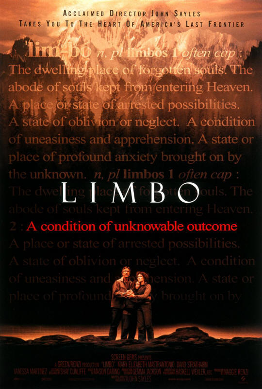 "Promotional poster for the film ""Limbo"""