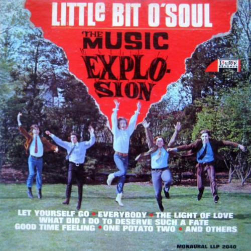 The Music Explosion -- Little Bit O' Soul (album cover art, mono issue)
