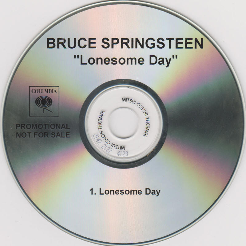 Bruce Springsteen -- Lonesome Day