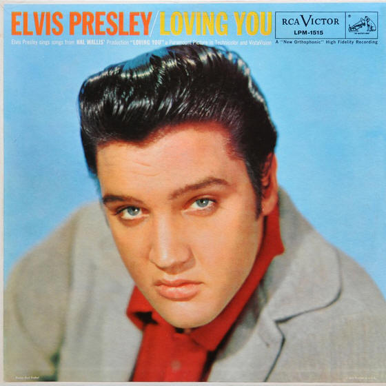 Elvis Presley -- Loving You (album cover art)