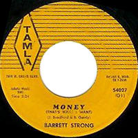 "Barrett Strong -- ""Money (That's What I Want) / Oh I Apologize"""