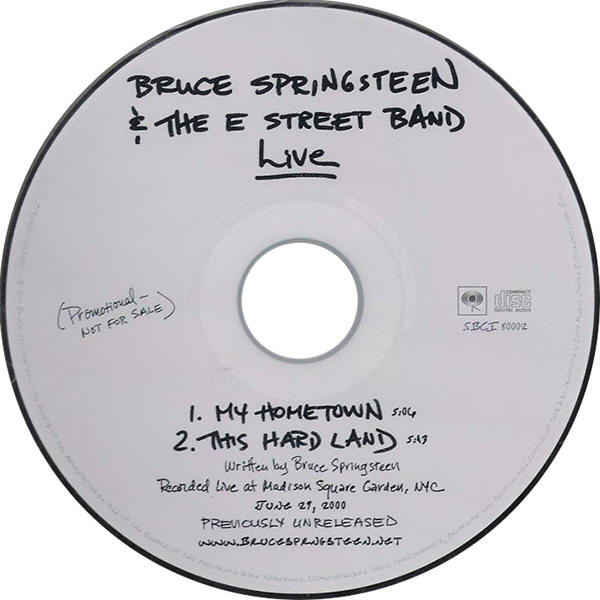 Bruce Springsteen & The E Street Band -- Live